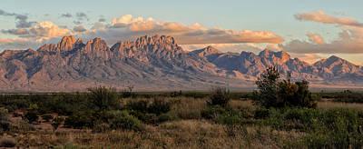 Organ Mountains, Las Cruces, New Mexico Print by Loree Johnson