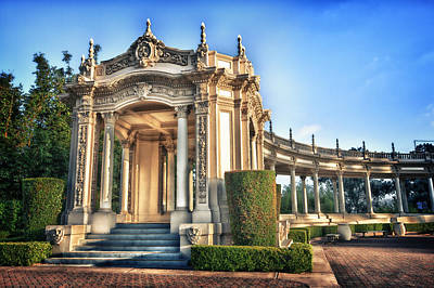Historic Buildings Photograph - Organ Pavillion At Balboa Park by Larry Marshall