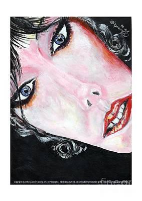 Lady Ga Ga Painting - Original Daydreamer.  by Liam O Conaire