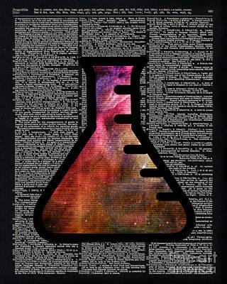 Orion Alchemy Vial Print by Jacob Kuch
