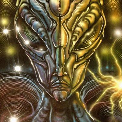 Alien Painting - Orion Glare by John Shook