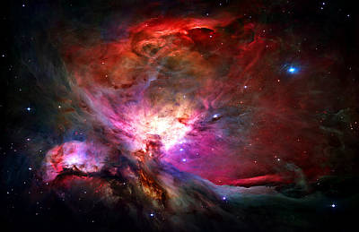 Science Photograph - Orion Nebula by Michael Tompsett