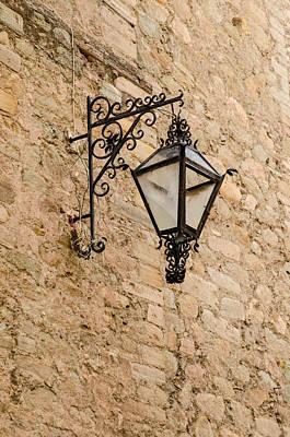 Guanajuato Photograph - Ornate Lamp. by Rob Huntley