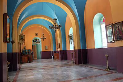 Orthodox Church In Hebron Original by Munir Alawi
