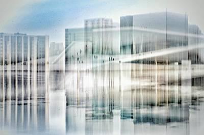 Oslo Opera House Print by Kathleen Alhaug