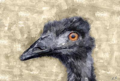 Ostrich Original by Sergey Lukashin