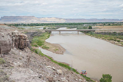 Raft Photograph - Other Side Of Interstate 70 #2 by Matthew Lit
