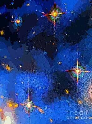 Deep Space Art Painting - Our Beautiful Universe by John Malone