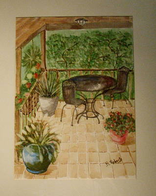 Our Front Porch Original by Bobbie Roberts