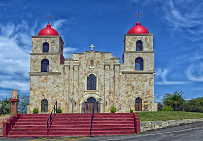 Our Lady Of Guadalupe Church Print by Mountain Dreams