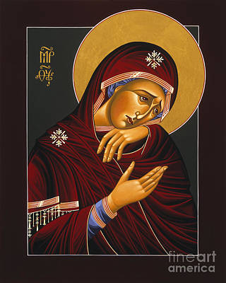 Our Lady Of Sorrows 028 Print by William Hart McNichols
