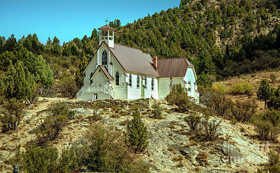 Silver City Photograph - Our Lady Of Tears Catholic Church by Robert Bales
