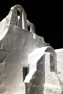 Our Lady Of The Side Gate Infrared Print by John Rizzuto
