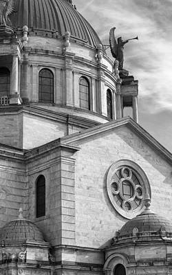 Our Lady Of Victory Basilica Print by Peter Chilelli