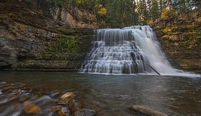 Gallatin River Photograph - Ousel Falls by Loree Johnson