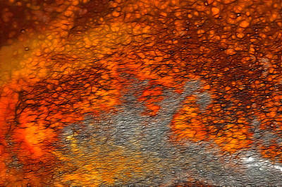 Fired Clay Photograph - Out Of The Fire by Bill Morgenstern