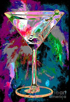 Martini Photograph - Out Of This World Martini by Jon Neidert