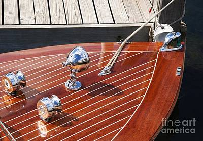 Outboard Runabout Print by Neil Zimmerman