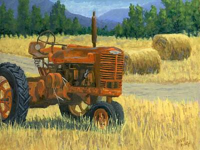 Bales Painting - Outdated by David King