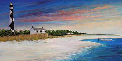 Nc Painting - Outlook II by Sharon Kearns