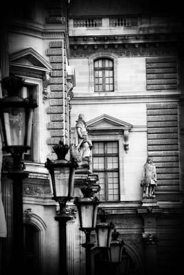 Outside The Louvre Original by Cabral Stock