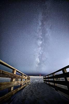 Over Orange Beach Pass Print by JC Findley