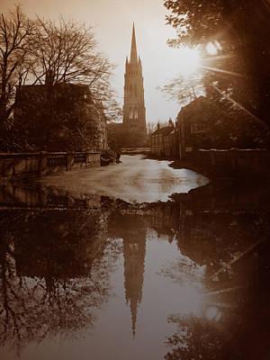 Over The Bridge Print by Naomi Tebbs