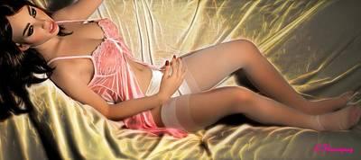 Glamour Digital Art - Overhead Angle by Richard Hemingway