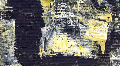 Overseas - Abstract Painting Print by Modern Art Prints