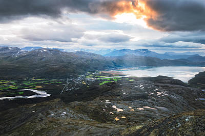 Fjord Photograph - Overview by Tor-Ivar Naess