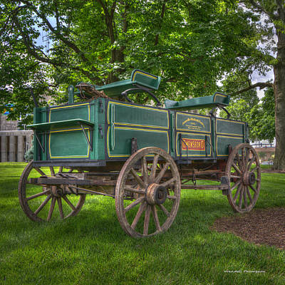 Daviess County Kentucky Photograph - Owensboro Wagon by Wendell Thompson