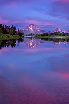 Tetons Photograph - Oxbow Bend Dawn by Andrew Soundarajan