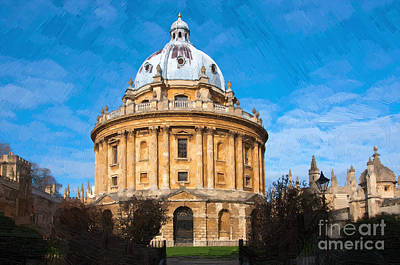 Oxford Photograph - Oxford by Andrew Michael