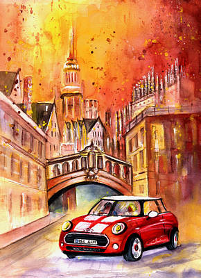 Iconic Painting - Oxford Authentic by Miki De Goodaboom
