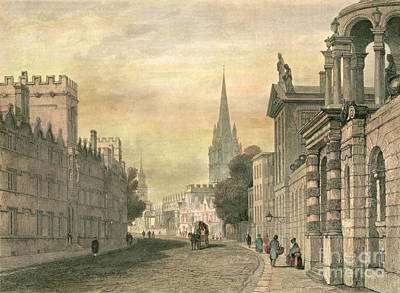 Oxford Print by G Hollis
