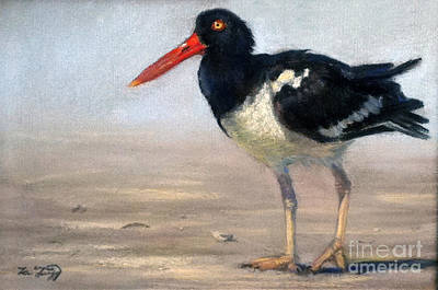 Oyster Catcher Original by Deb LaFogg-Docherty