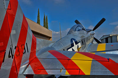 Planes Of Fame Photograph - P-51 D - February by Tommy Anderson
