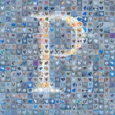 Digital Art - P In Cloud by Boy Sees Hearts
