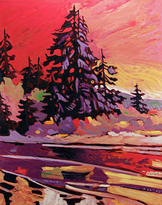 An Island Painting - Pacific 17 by Rob Owen