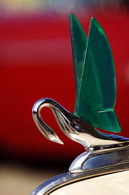 Packard Cormorant Hood Ornament Print by Jill Reger