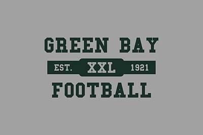 Packers Retro Shirt Print by Joe Hamilton