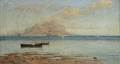 Seas Painting - Paesaggio by Mario Mirabella