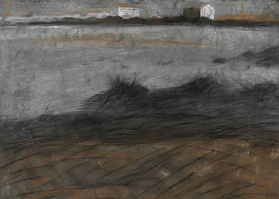 Umberto Painting - Paesaggio by Umberto Boccioni