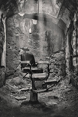 Haunted House Photograph - Pain Bw by Heather Applegate