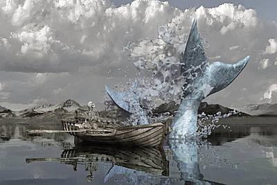 Sharks Digital Art - Paint Me Silly by Betsy Knapp