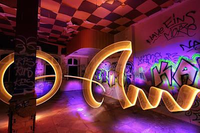 Paint The Room With Light Print by Gunnar Heilmann