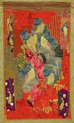 Painted Geisha Print by Roberta Baker