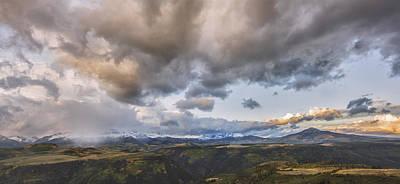 San Juan Mountain Range Photograph - Painted Sunset by Jon Glaser