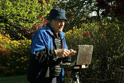 Photograph - Painter At Work 1 by Terry Perham