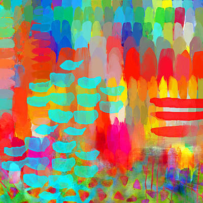 Girls Mixed Media - Painter by Moon Stumpp